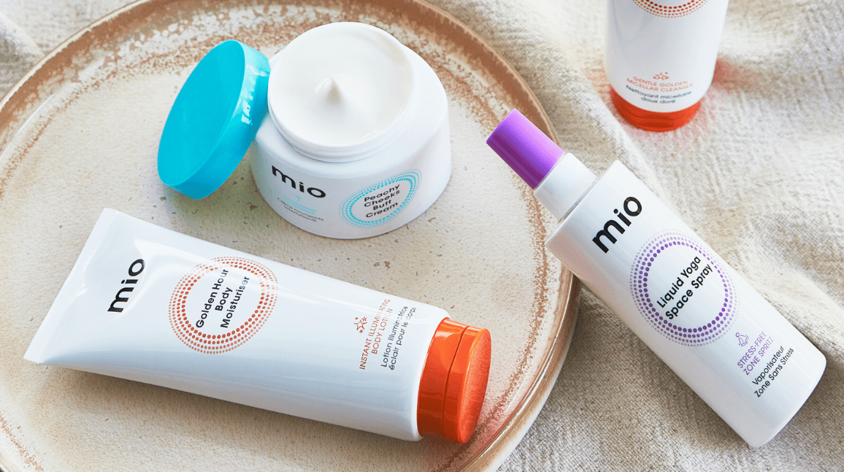 How to create the perfect self-care pamper session at home with Mio's new skincare