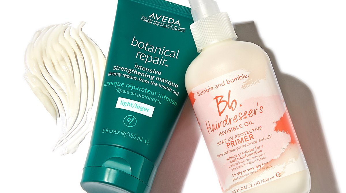 How to prep your hair before styling