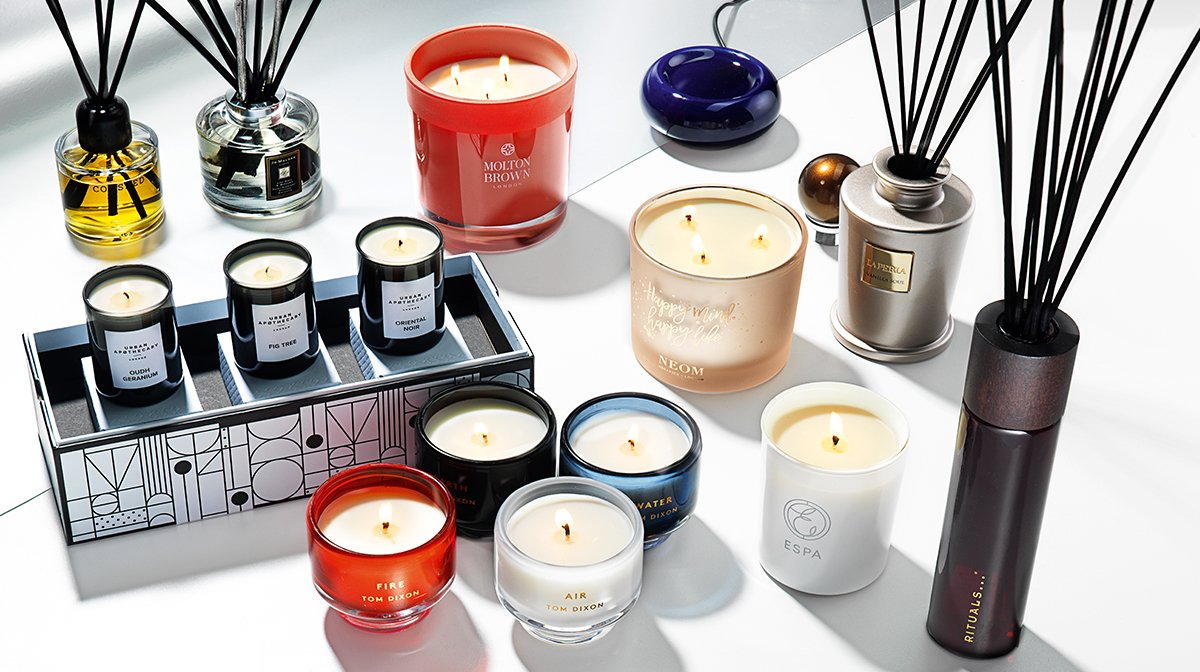 The luxury home fragrance Christmas Gift Guide