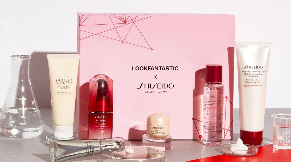 Introducing the LOOKFANTASTIC x Shiseido Limited Edition Beauty Box