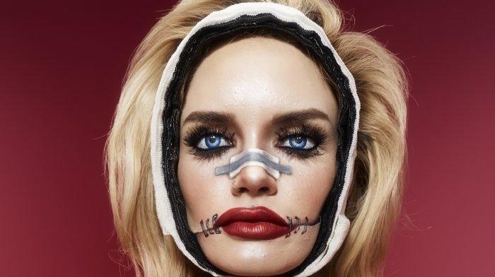 Broken doll Halloween makeup tutorial with NYX