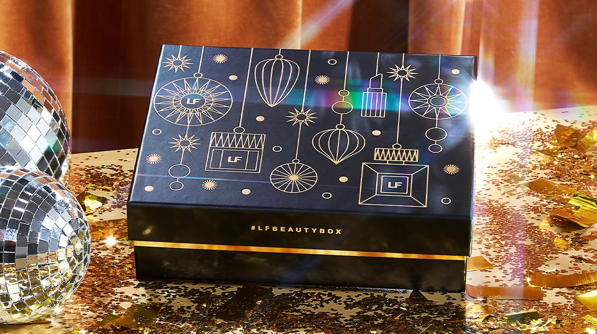 Discover our December 'Christmas' Edition LOOKFANTASTIC Beauty Box