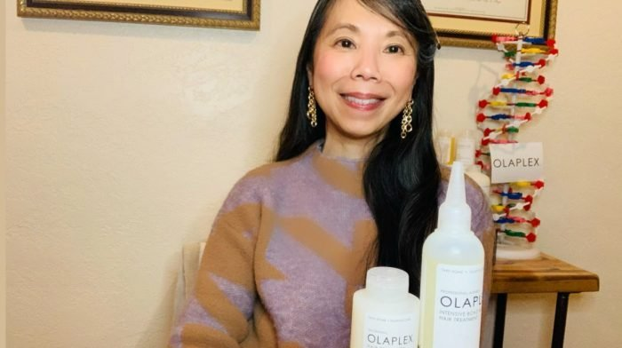 The best way to use Olaplex with JuE Wong