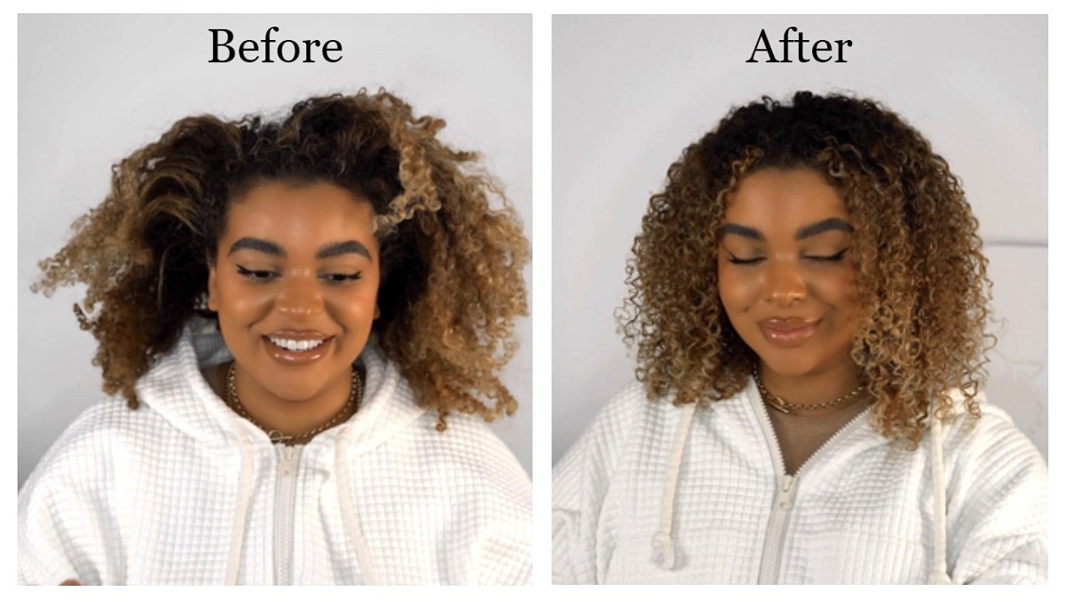 How to style naturally curly hair the expert way