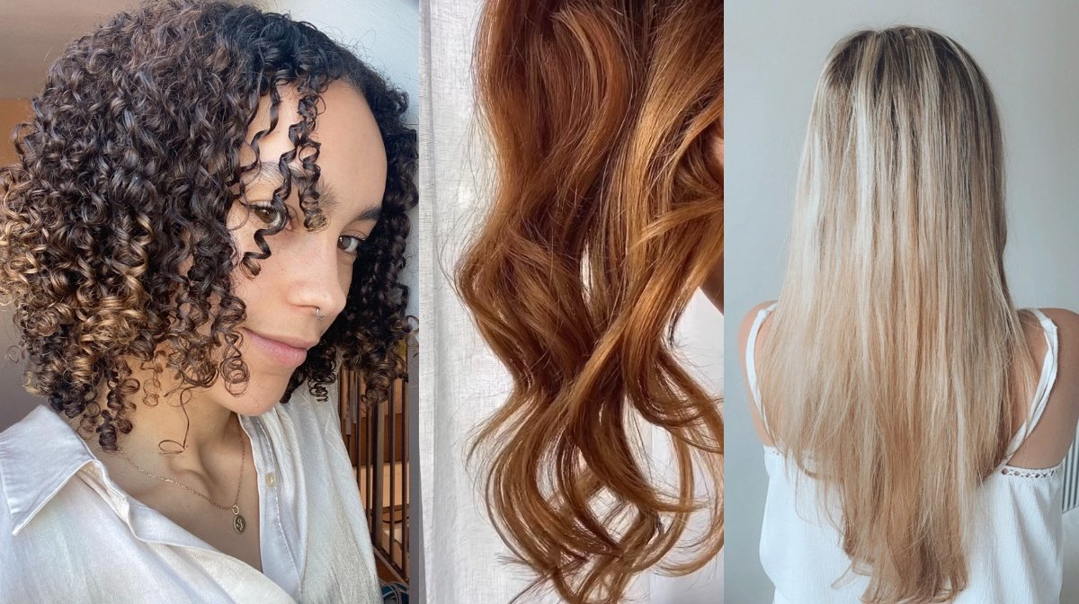 We tried Olaplex No.8 on 4 hair types and these are the results!