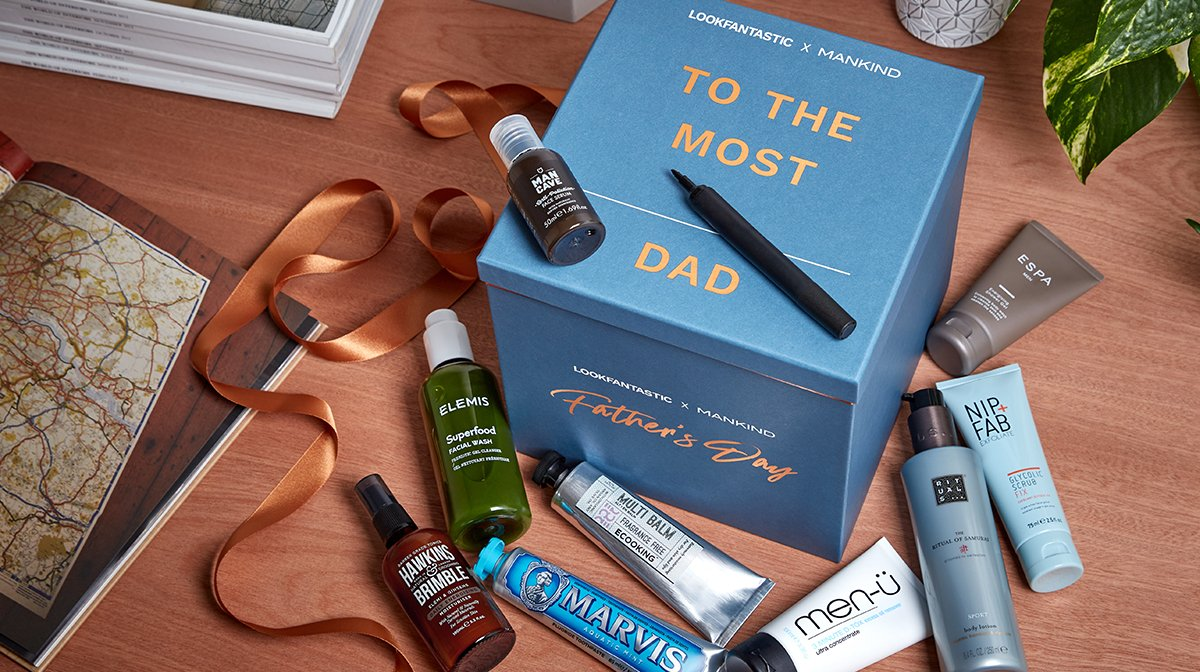 LOOK INSIDE: LOOKFANTASTIC x MANKIND Father's Day Box