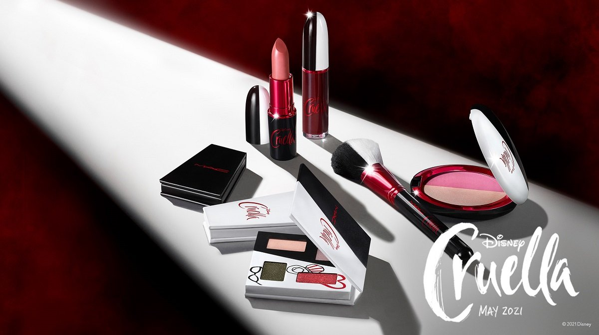 Discover the must-have beauty collection of the year; the Disney Cruella collection by M.A.C