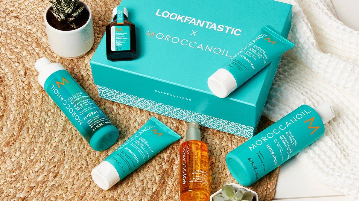 LOOK INSIDE: LOOKFANTASTIC x Moroccanoil Box