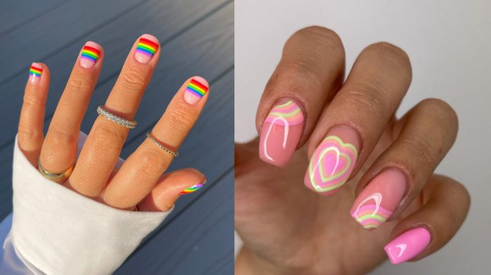 Hot nail trends for Pride
