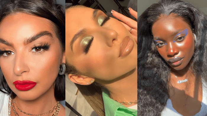 Makeup looks we'll be wearing on July 19th