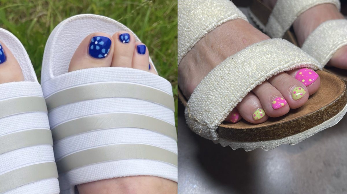 Top trending nail designs for your toes