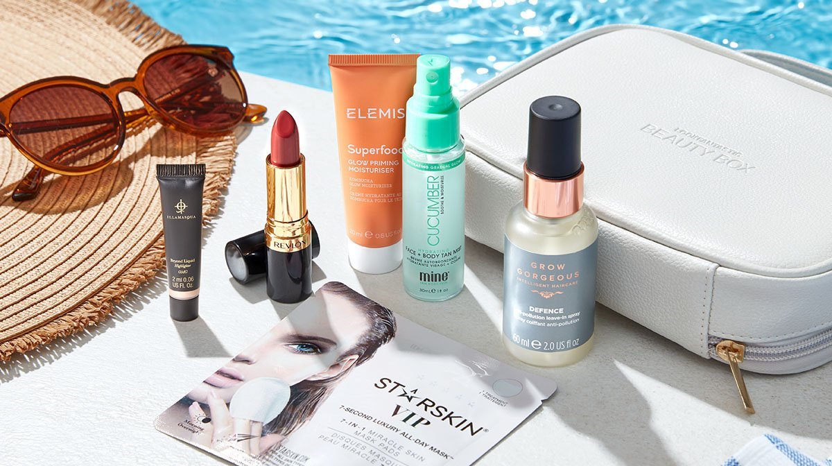 Your ultimate summer makeup look with LOOKFANTASTIC Beauty Box