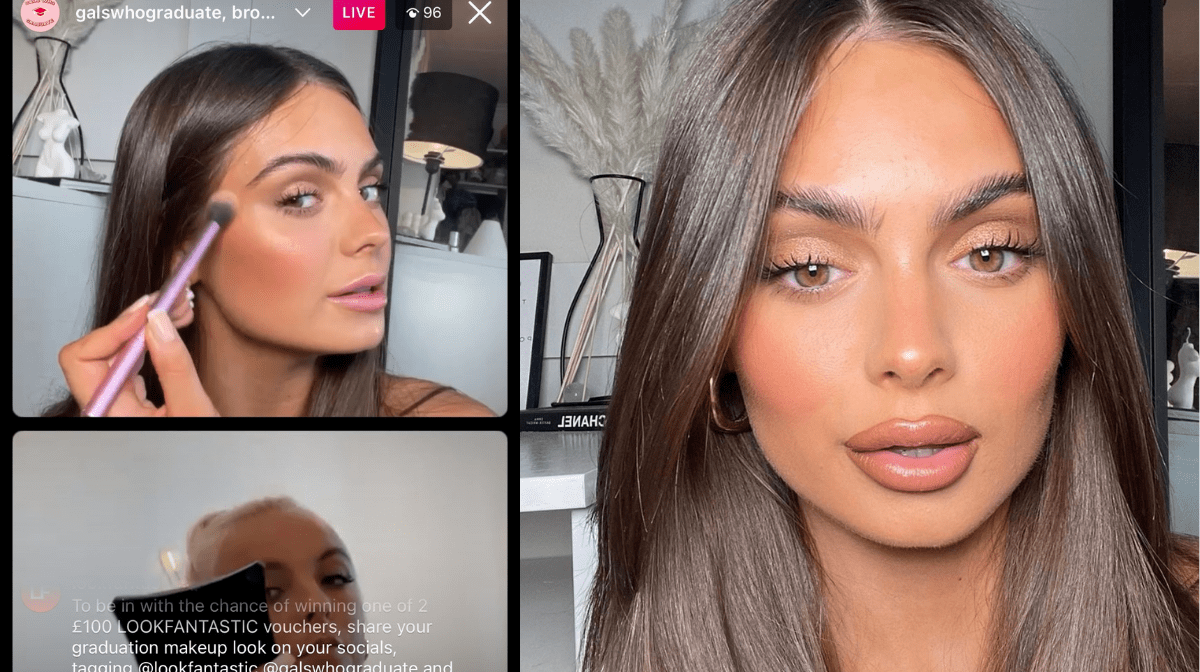 The perfect soft-glam graduation look with Jess Evans
