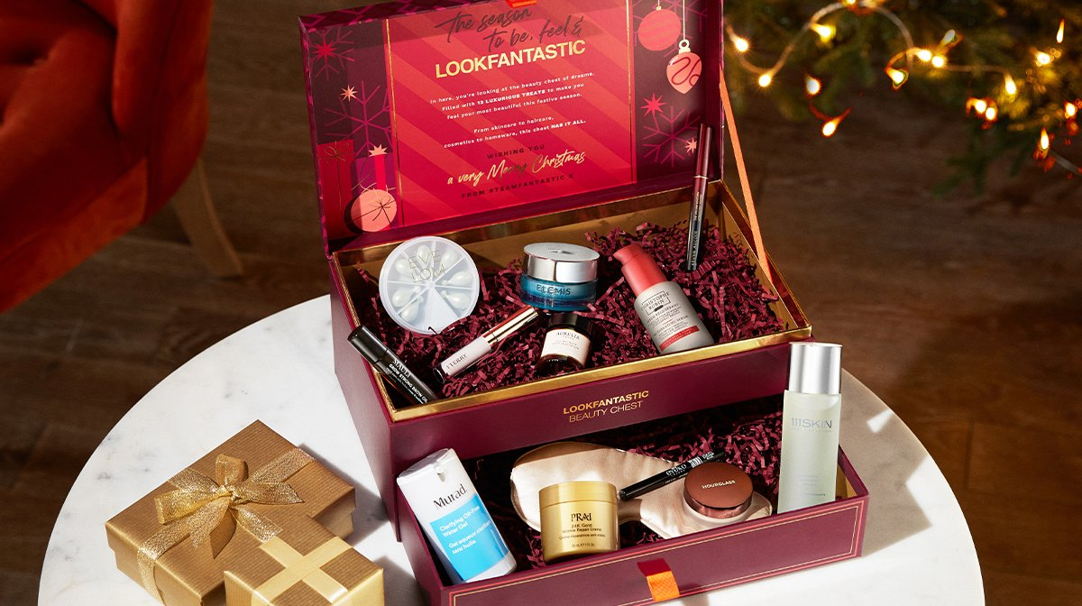 What's inside the LOOKFANTASTIC Beauty Chest 2021?