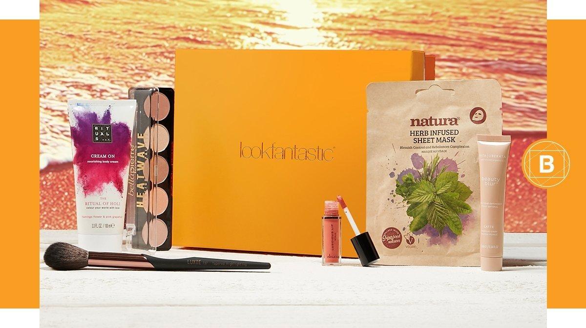 La lookfantastic Beauty Box de agosto