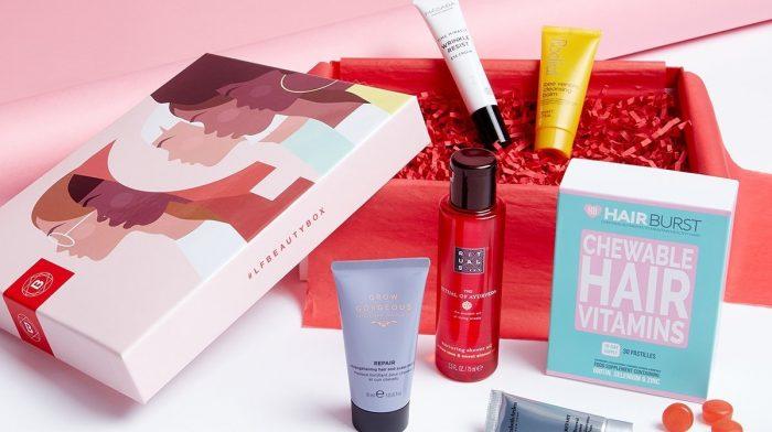 """Descubre la Beauty Box de marzo - Edición """"Unconstricted"""""""