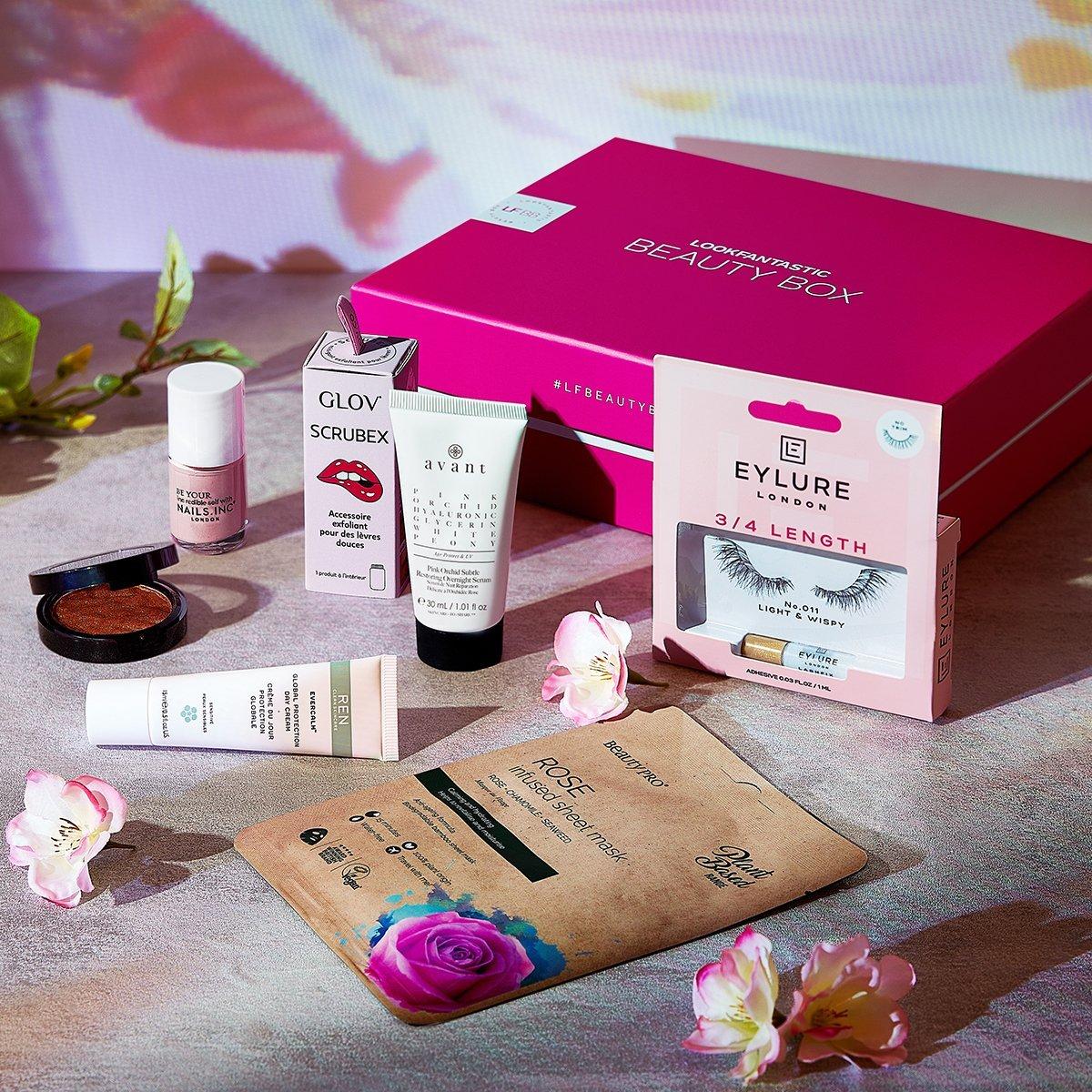 """Nos adentramos en la Beauty Box de abril: Edición """"Blossom""""."""