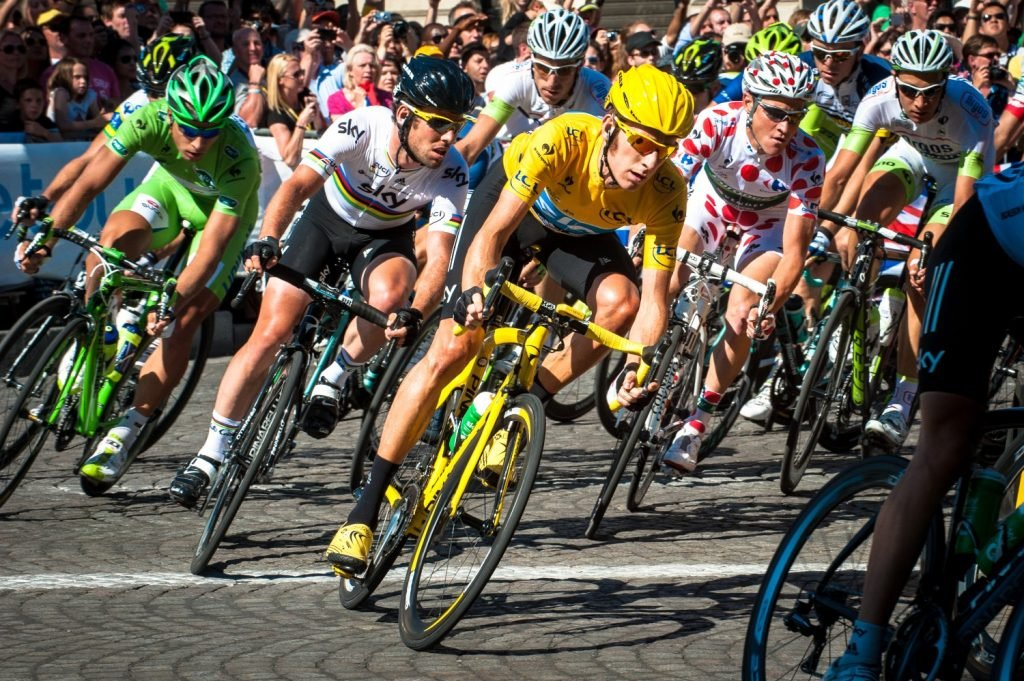 Bradley Wiggins winning the Tour De France was the best British cycling moment for many over the last decade