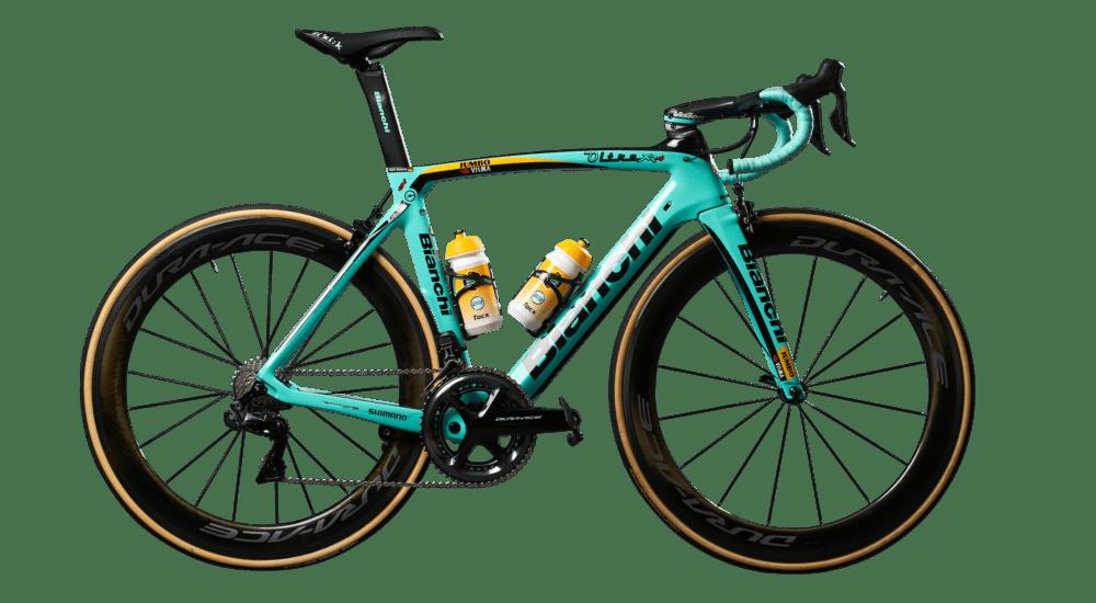 Jumbo Visma Bianchi Team Bike 2020