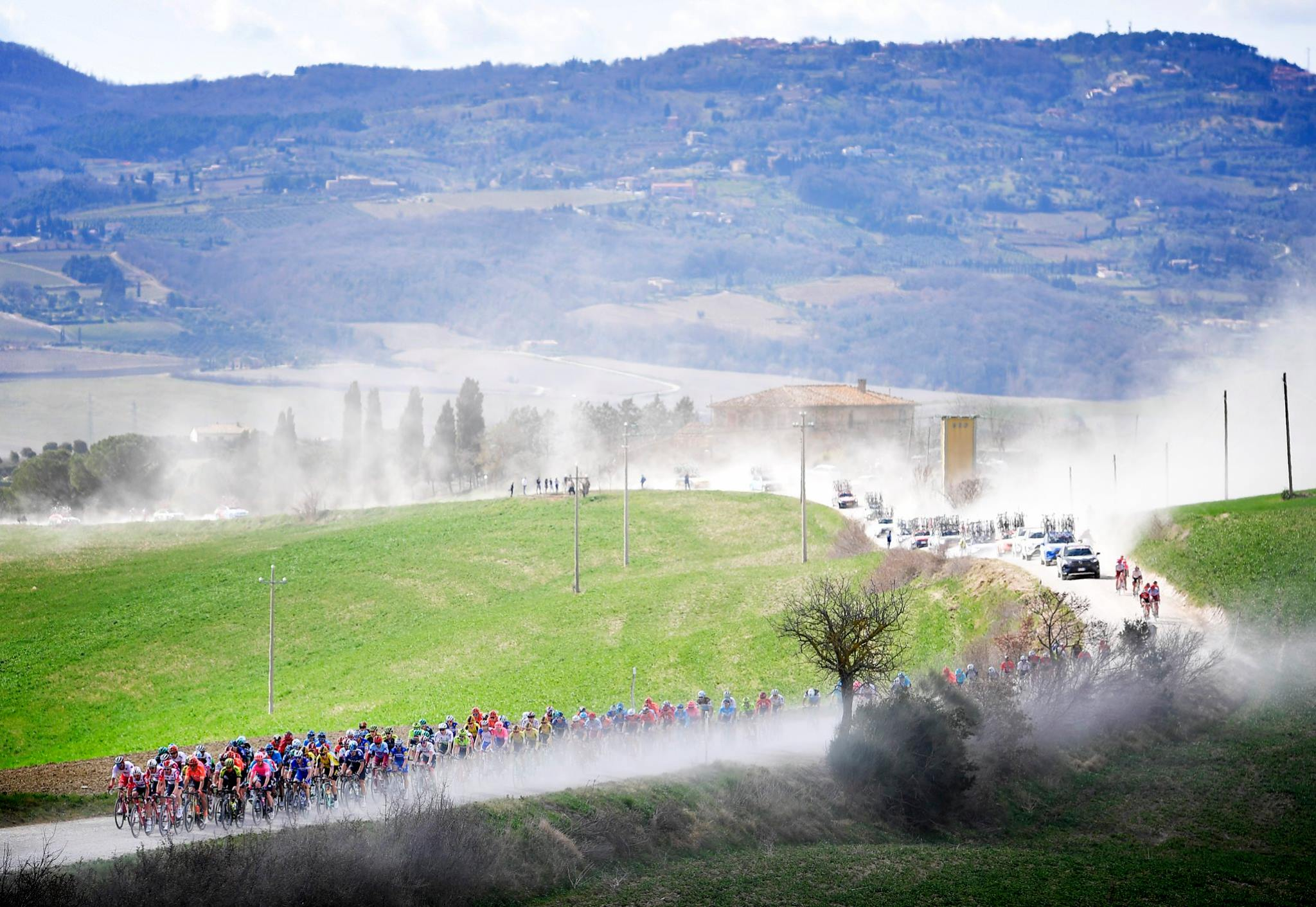 White Tuscan roads of Strade Bianche