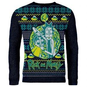 Rick and Morty Christmas Jumper