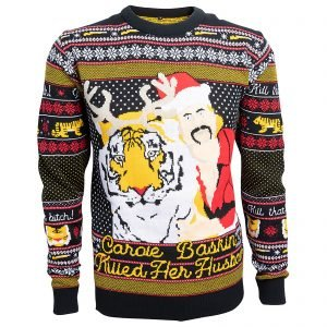Tiger King Christmas Jumper