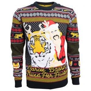 Tiger King Christmas Jumper