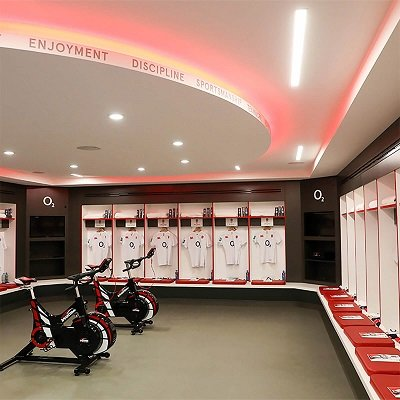 Twickenham Dressing Rooms