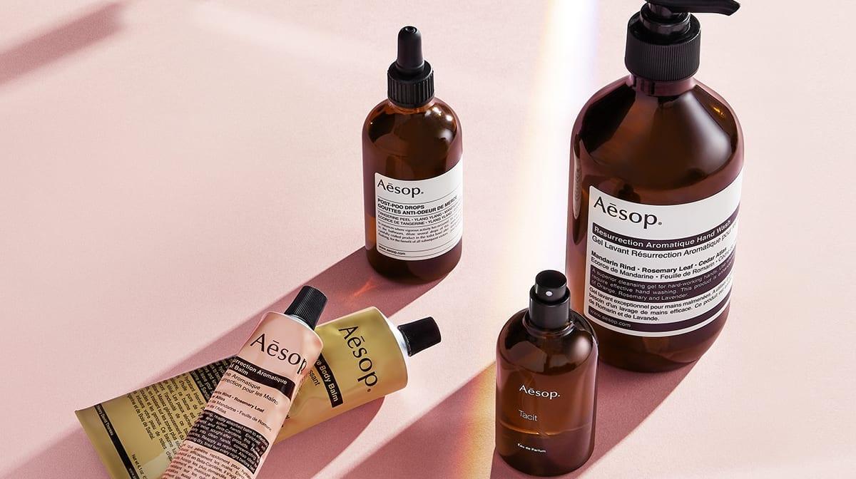 Top 10 bedste Aesop produkter