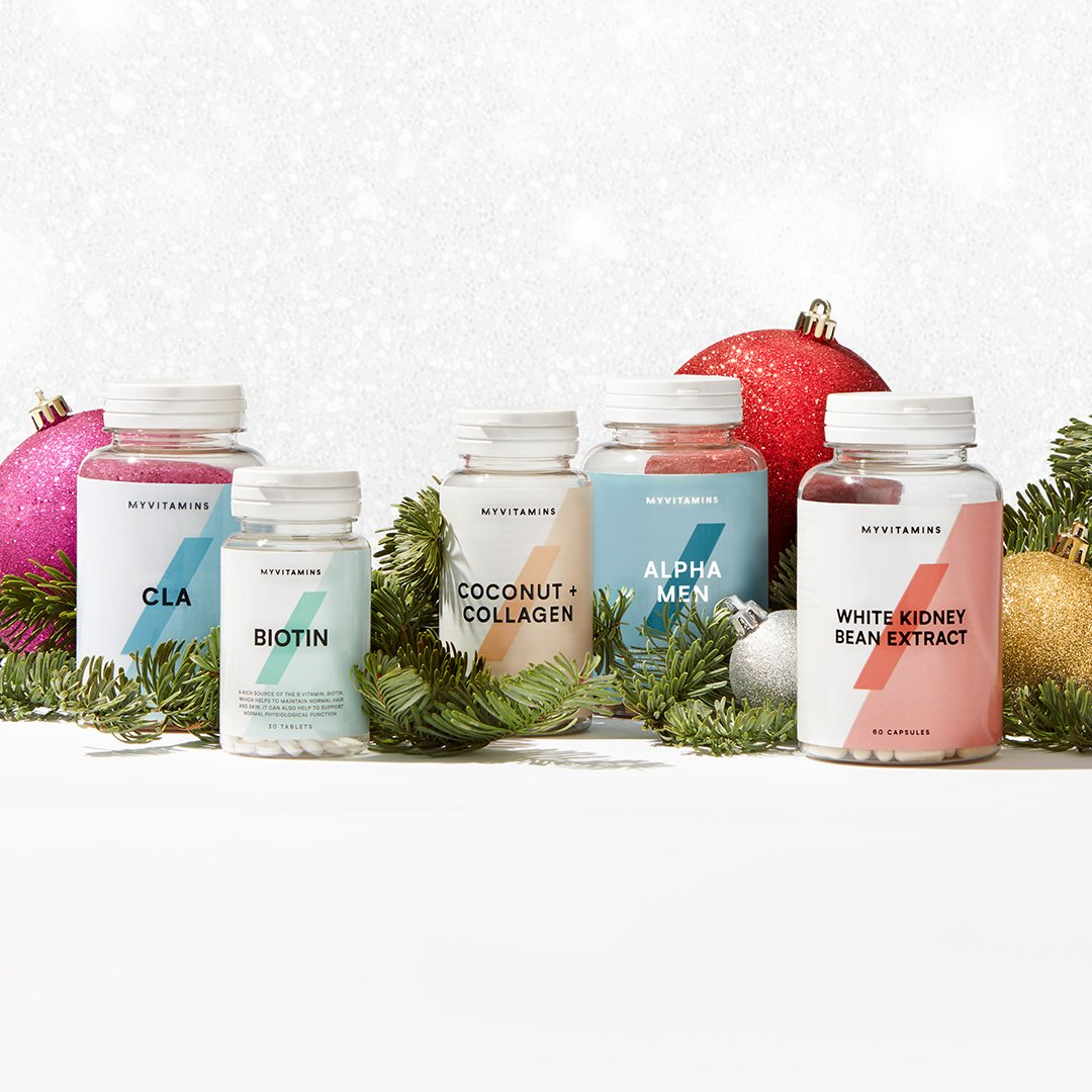 Prepare for Christmas with vitamins