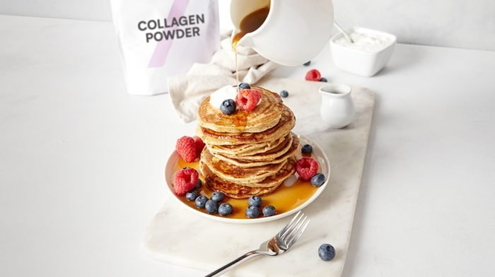 Collagen Pancakes Two Ways