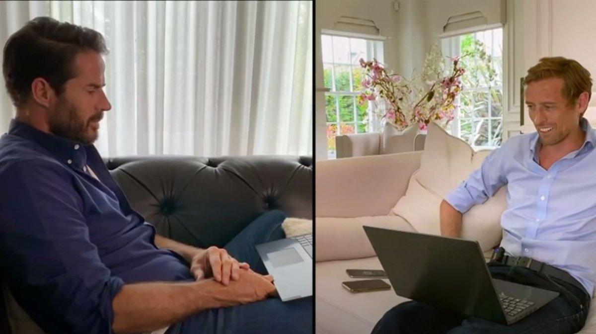 Peter Crouch and Jamie Redknapp Talk Mental Health