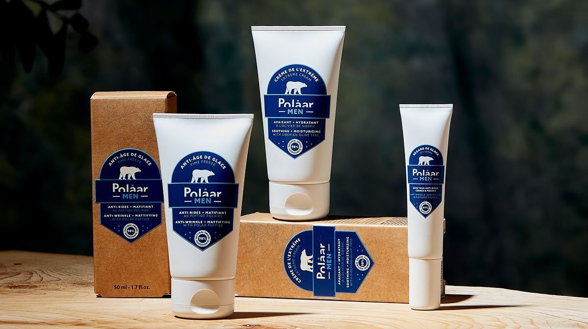 Discover Soothing Men's Skincare with Polaar Men.