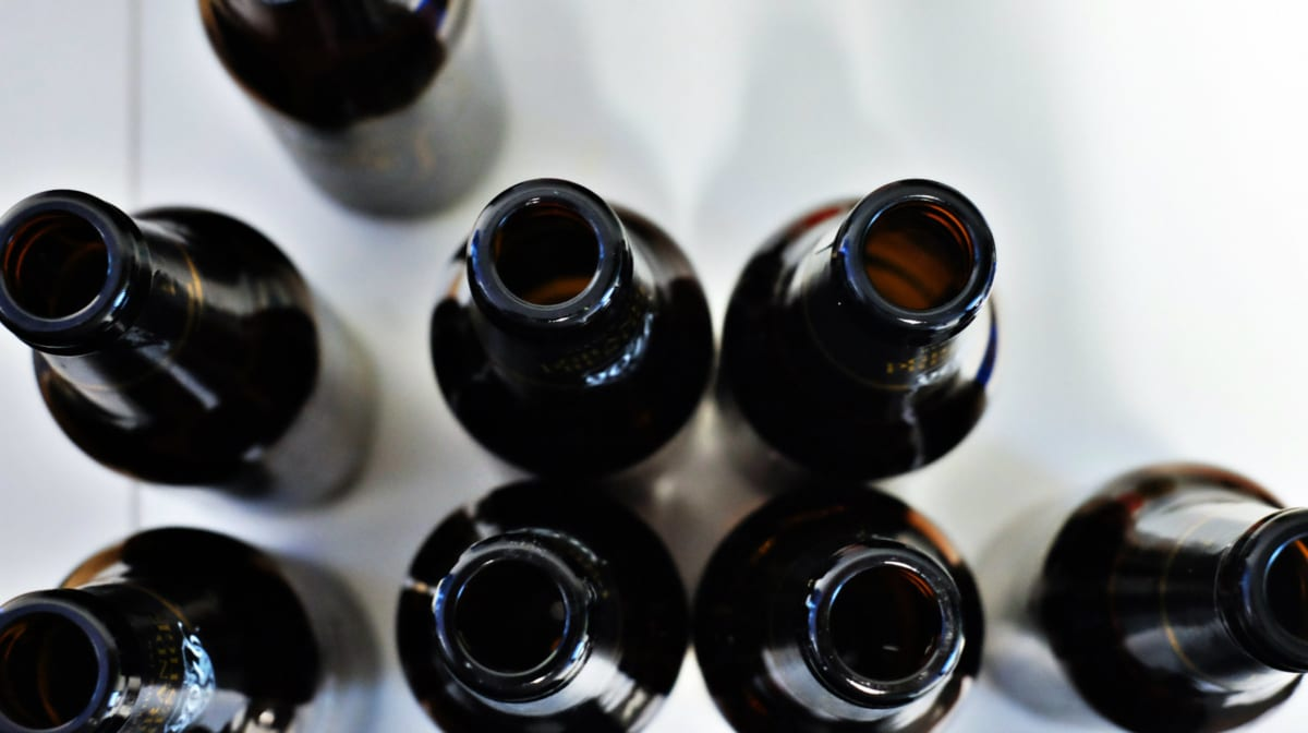 μπουκάλια μπύρας