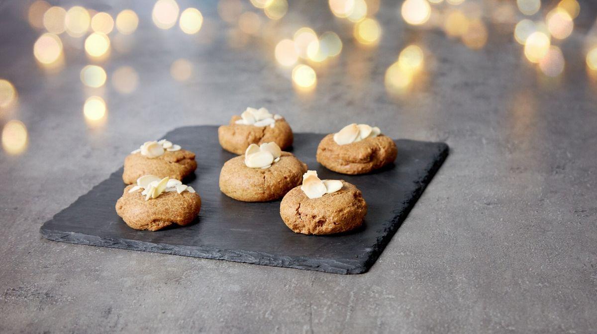 Μπισκότα κανέλας με πρωτεΐνη