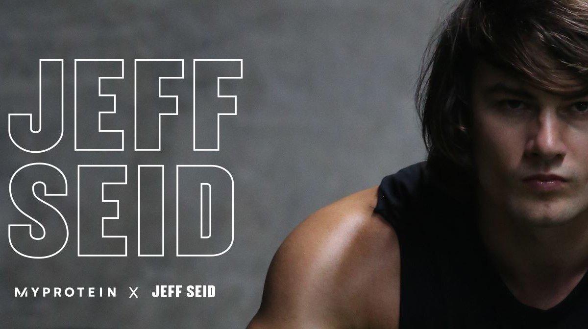 O Jeff Seid είναι πλέον μέλος του Myprotein Team