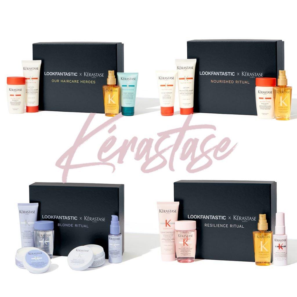 Kérastase x Lookfantastic boxes with signature