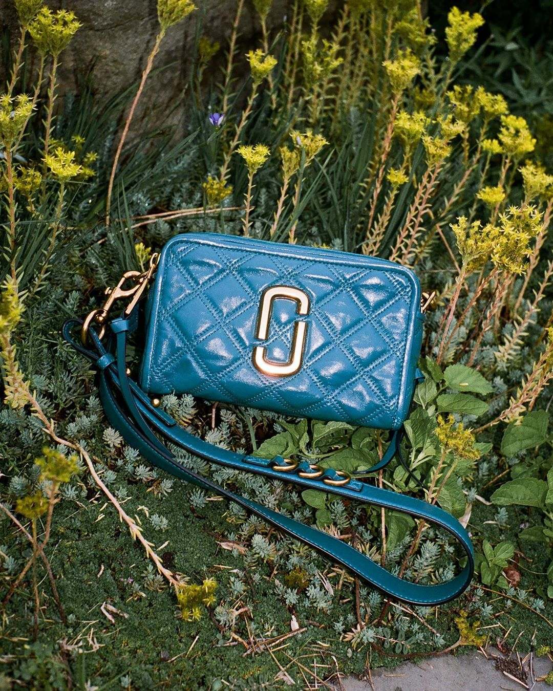 Marc Jacobs quilted softshot