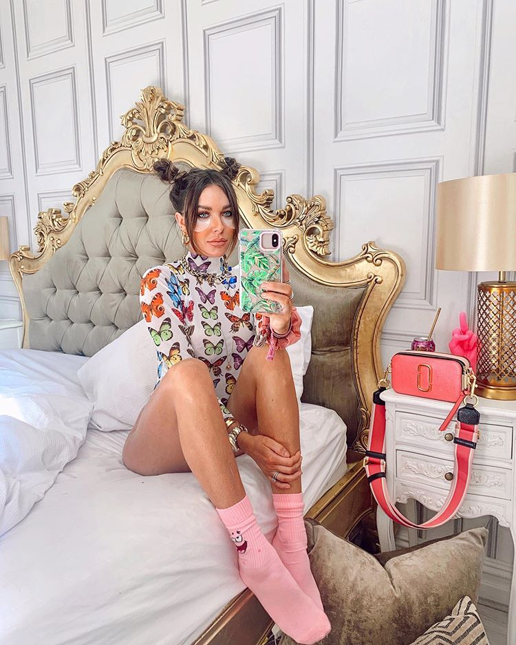 Marc Jacobs pink snapshot