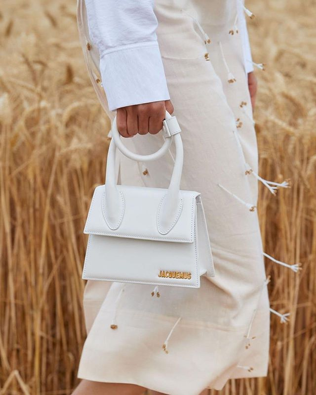 @jacquemus mini top handle handbag