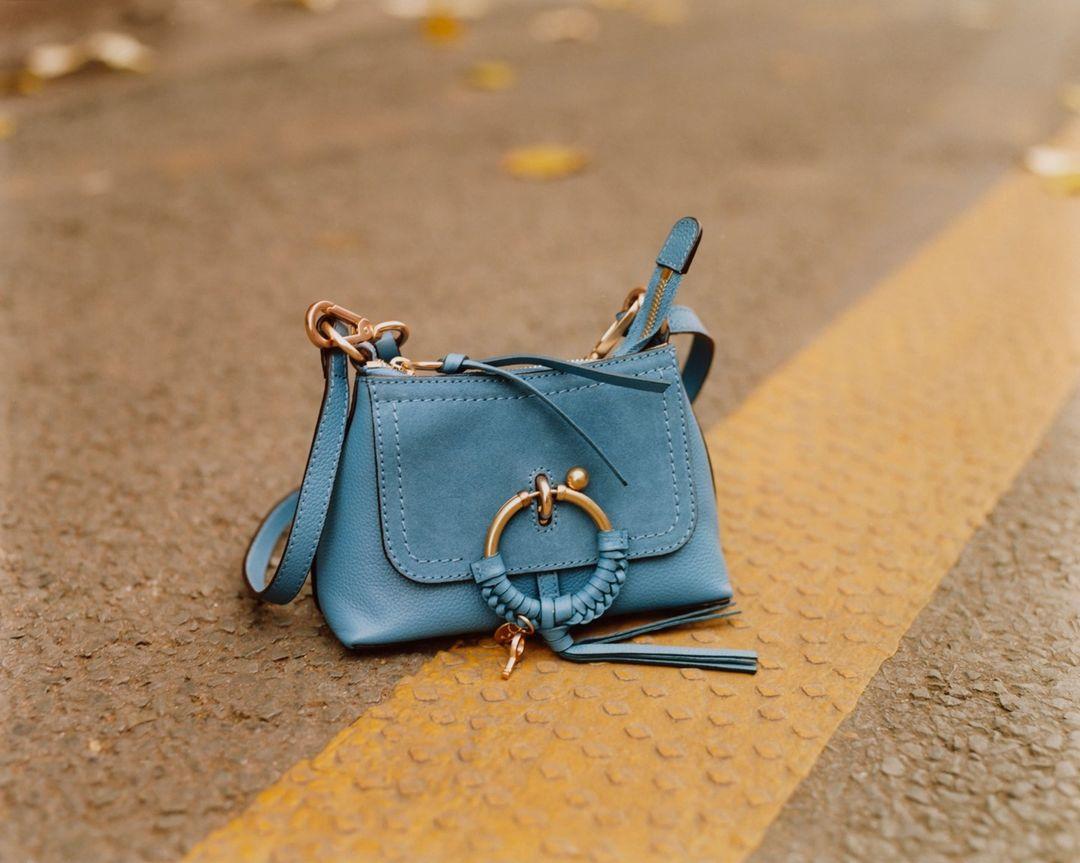 See By Chloe Mini Joan Bag in Blue