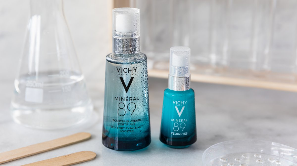 Old vs. New With Vichy's Mineral 89