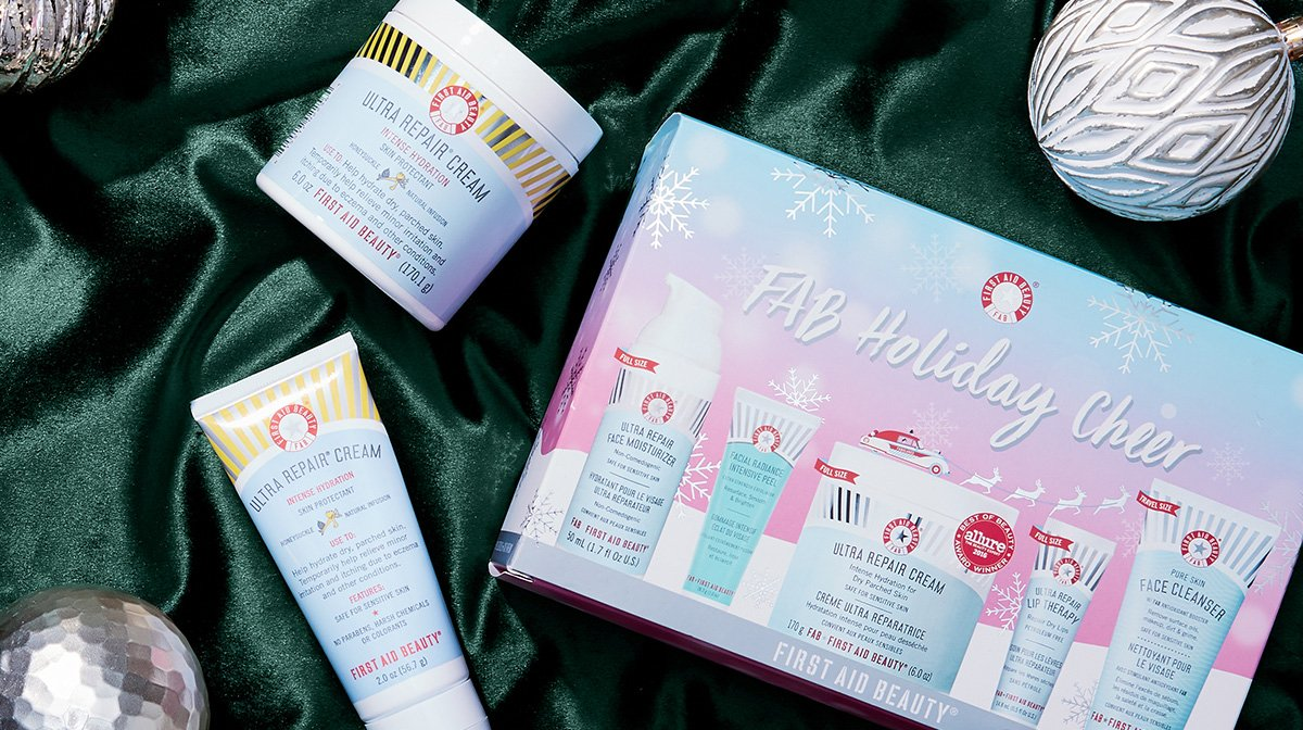 Being Fab With First Aid Beauty's Holiday Cheer Kit