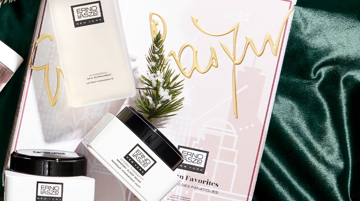 Double Cleansing with Erno Laszlo