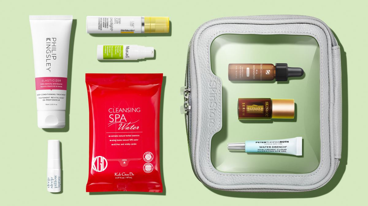 Bloom Into Spring with Our Beauty Bag This Month!