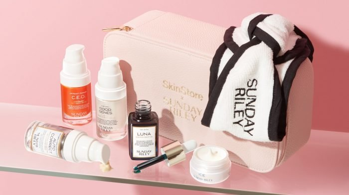 What's Inside the SkinStore x Sunday Riley Limited Edition Beauty Bag