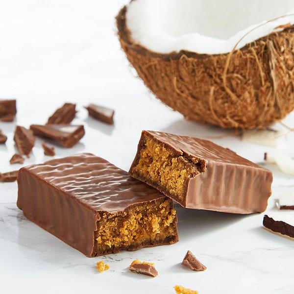 Exante Schokolade & Kokosnuss Riegel