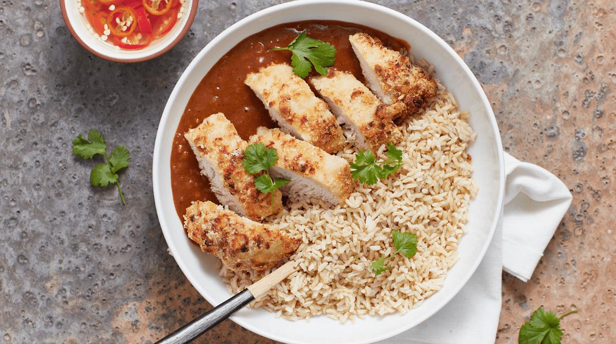 Neues Rezept: Puten Katsu Curry