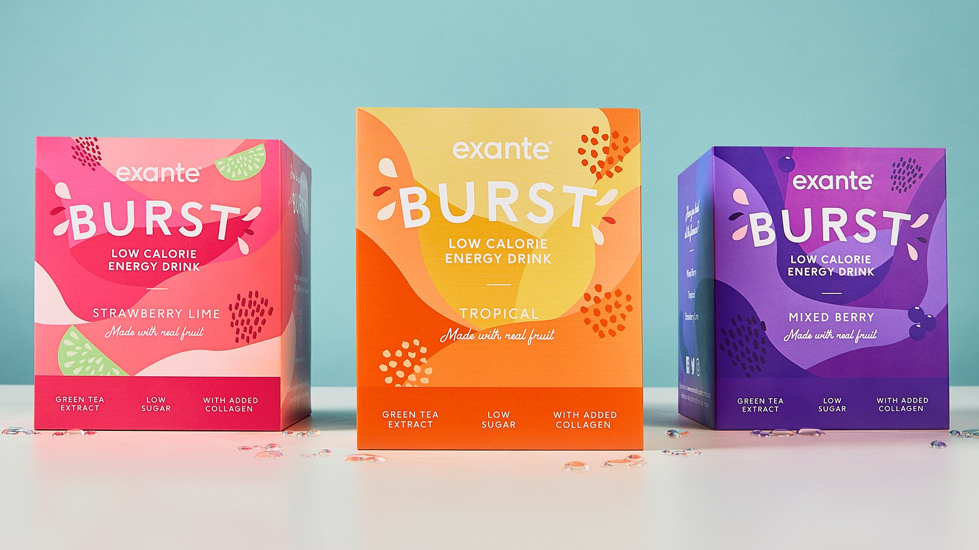 Introducing the NEW Multivitamin Energy Drink....BURST