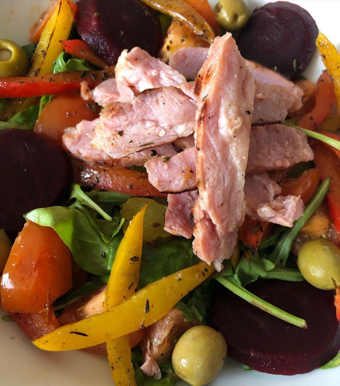 Low Calorie Gammon Salad